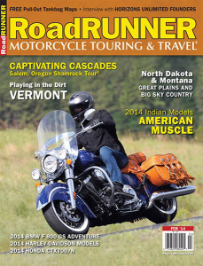 Photo of RoadRUNNER Touring and Travel magazone cover