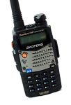 Photo of Baofeng UHF two-way radio