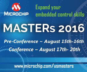 Microchip Masters Conference 2016 Graphic