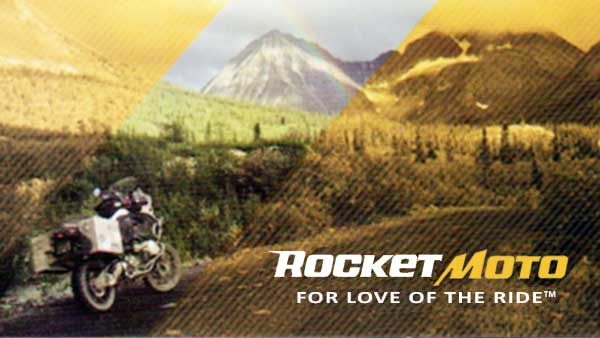 Rocket Moto dealer for audio products and Motus Motorcycles